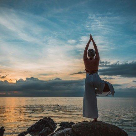 Yoga Yoga Pose Asana Sunset Woman  - Peggy_Marco / Pixabay